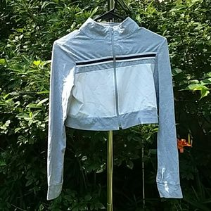 Athletic crop jacket